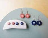 Daisy Inlay Earrings
