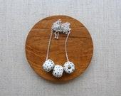 Indigo Speckled Bead Necklace Special