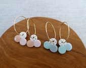 Clover Hoop Earrings SALE...