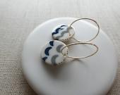 Waves Earrings Sample SALE Free Shipping