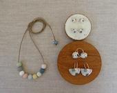 Multicolour Porcelain Bead Necklace
