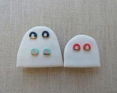 New Rainbow Stud Earrings