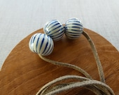 Lines Onion Ball Necklace