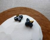 Batten Cross Stud Earrings