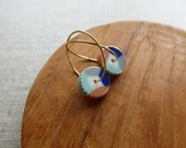Colour Wheel Hoop Earring...