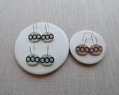 Echo Oval Drop Earrings