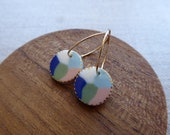Seascape Hoop Earrings...