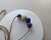 Temari Bead Necklace Sample