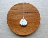 Polka Dot Rain Drop Neckl...