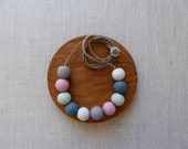 Multi-colour Ceramic Beads Necklace SALE