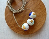 Watercolour Bead Necklace...