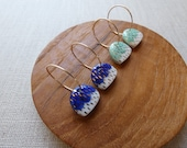 Dash Mountain Hoop Earrings