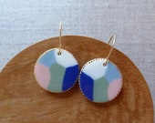 Seascape Hook Earrings...