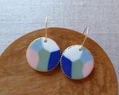 Seascape Hook Earrings