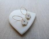 Ume Flower Inlay Earrings