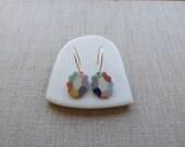 Mirror Earrings in Portrait Sample