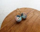 New Colour Wheel Hoop Earrings