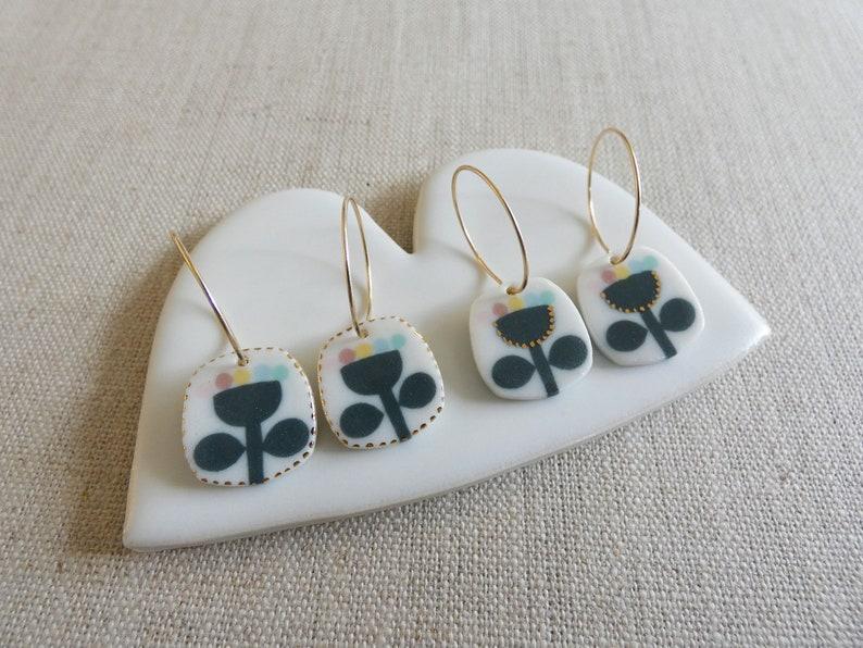 Flower Bloom Earrings image 0