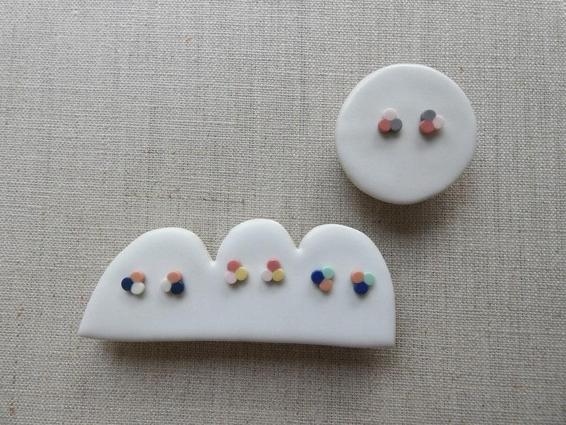 Clover Stud Earrings image 0