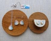 Morning Glory Hoop Earrings