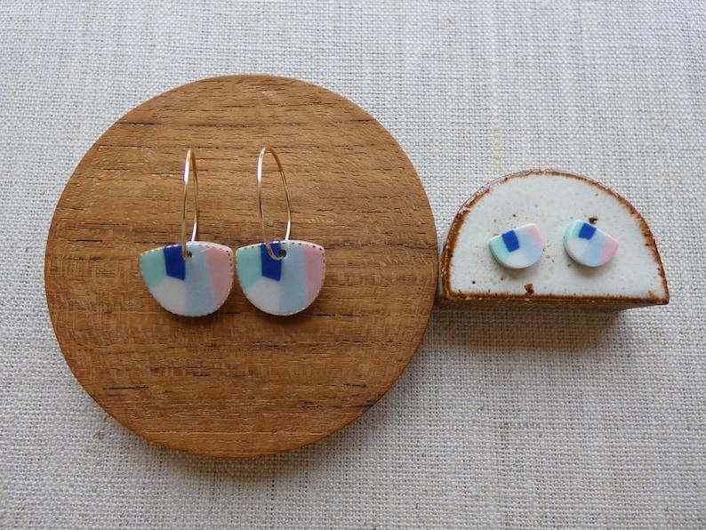Aurora Hoop Earrings image 0