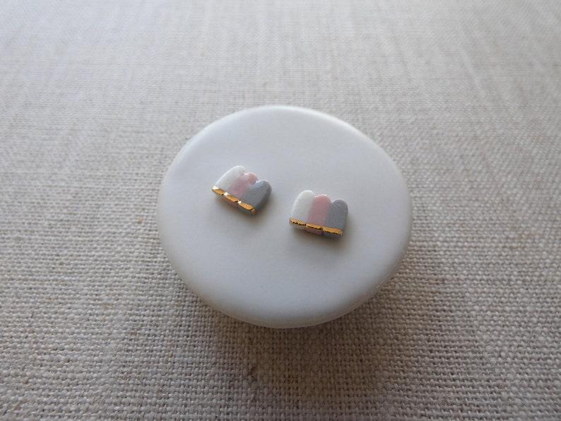 Waterfall Stud Earrings image 0