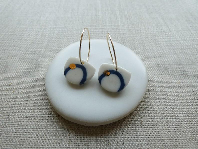 Orbit Hoop Earrings image 1