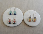 Pebble Stack Drop Earrings