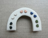 Starburst Halfmoon Stud Earrings in 7 colours