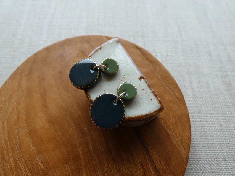 Eclipse Starburst Stud Earrings in 4 colours image 0