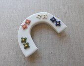 Hand Painted Star Stud Earrings