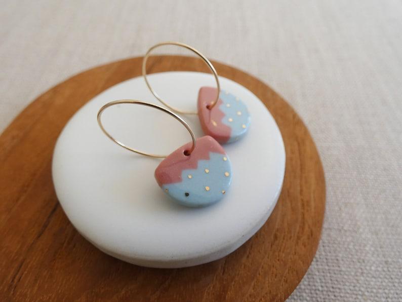 Mountian Line Drop Earrings image 0