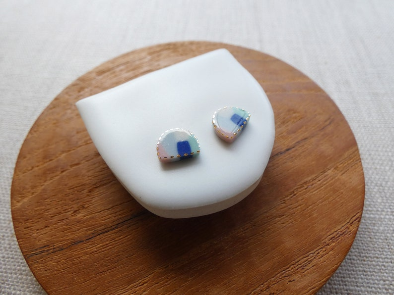 Aurora Stud Earrings image 1