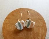 Birch Hoop Earrings