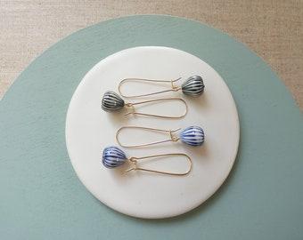 Onion Drop Kidney Wire Earring PREORDER