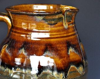 Stoneware Pitcher Ceramic Pitcher Pottery Stoneware Ice Tea Pitcher Pottery Jug Ceramic Jug A
