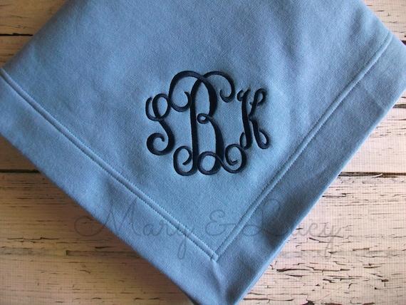 e69fd4d37a8 Monogrammed Stadium Blanket Sweatshirt blanket custom
