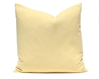 Pillow Covers - Soft Gold Pillow Covers - Saffron Yellow - Throw Pillow Covers - Decorative Pillows - Yellow Bedding - Sofa Pillow Covers