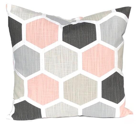 Pillow Geometric Pillow Covers Decorative Pillow Covers Etsy Mesmerizing Throw Pillow Covers Etsy