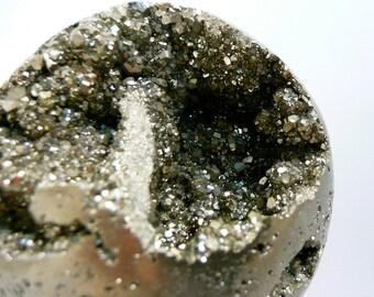 Pyrite crystal Sphere ball