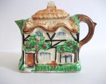 Vintage House Teapot