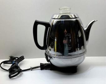 Vintage General Electric Percolator Coffee Pot