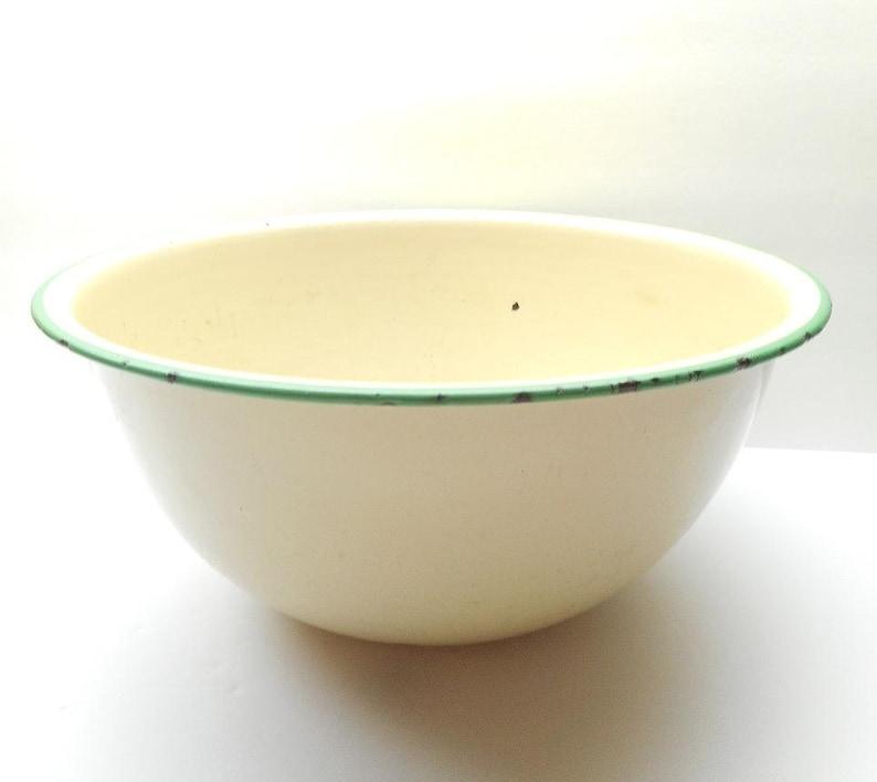 Vintage Enamel Bowl