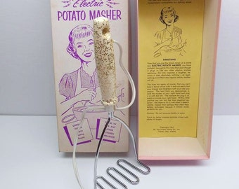 Vintage Electric Potato Masher Funny Gag Gift