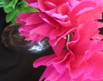 Tissue Paper Flowers Mexican Paper Flowers Fiesta Flowers Etsy