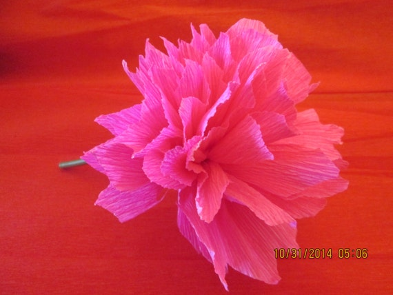 Mexican crepe flower mexican paper flowers day of the dead etsy 50 mightylinksfo