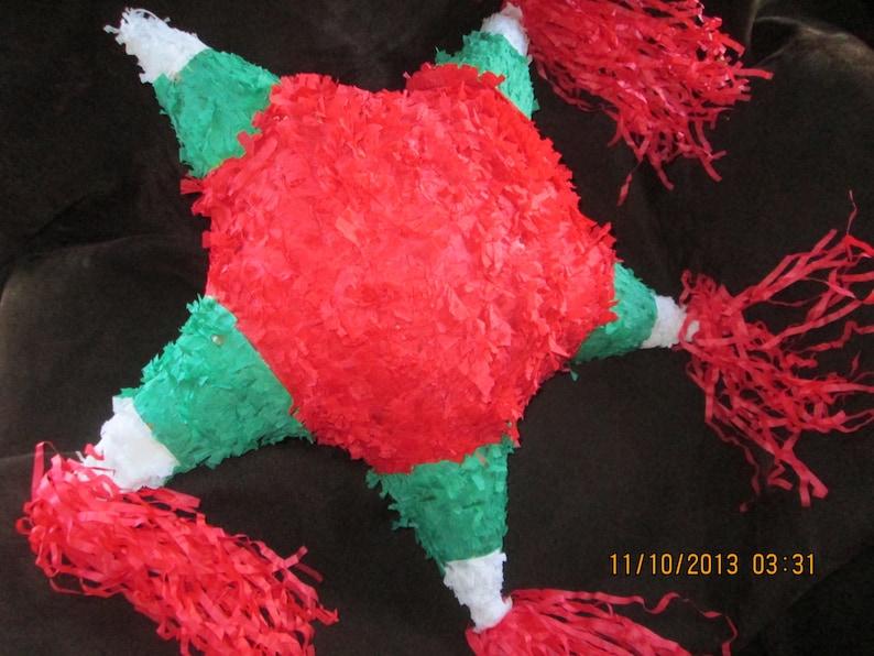 Christmas Pinata.Pinata Christmas Star Pinata Mexican Pinata Star Pinata Feliz Navidad Pinata
