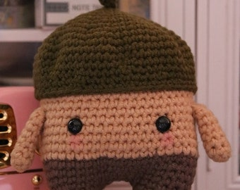 Laly Lala Acorn Erwin Crochet Doll