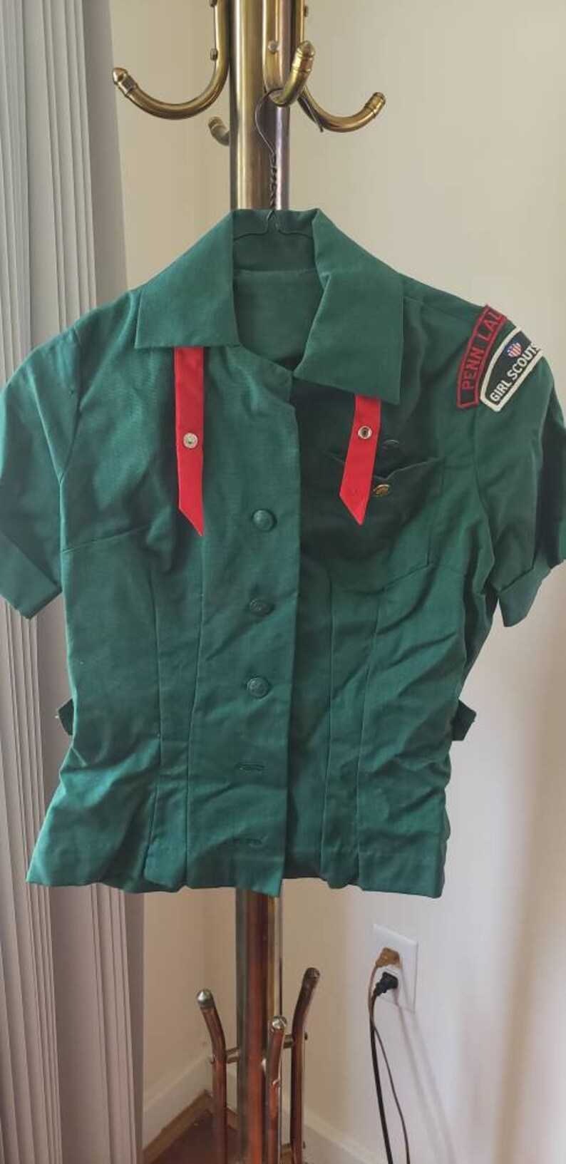Girl Scouts Blouse Official Scout Uniform