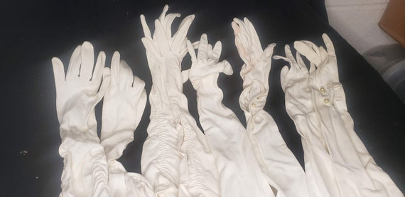 dress gloves, fancy gloves, retro gloves, long glo